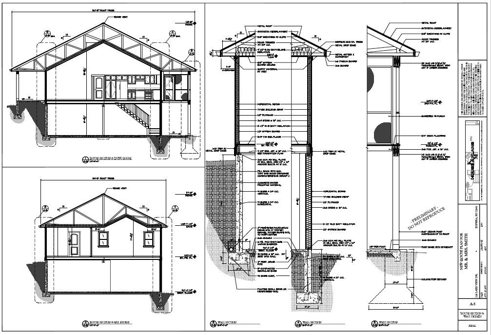 Cad House Plans Home Design And Style